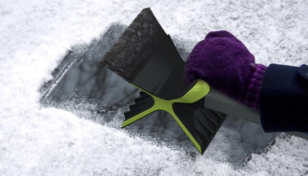 Скребок для чистки автомобиля Snowdozer