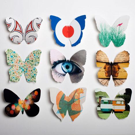 Оригами бабочки из бумаги