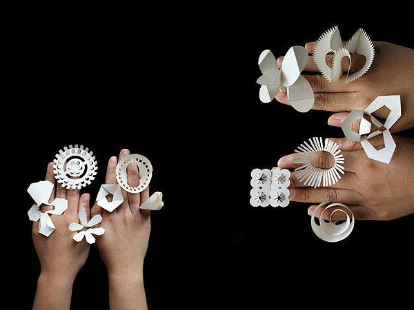 Оригами бумажные украшения