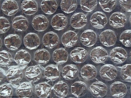 Упаковочный полеэтилен с воздушными пузырьками