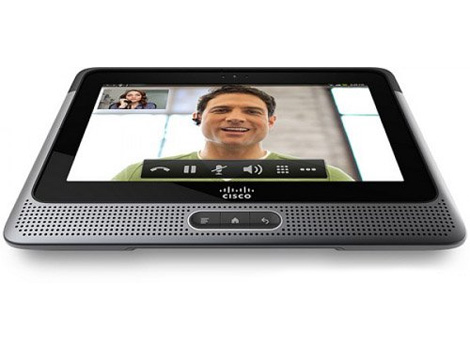 Cisco Cius - планшетный компьютер для бизнеса и телеконференций