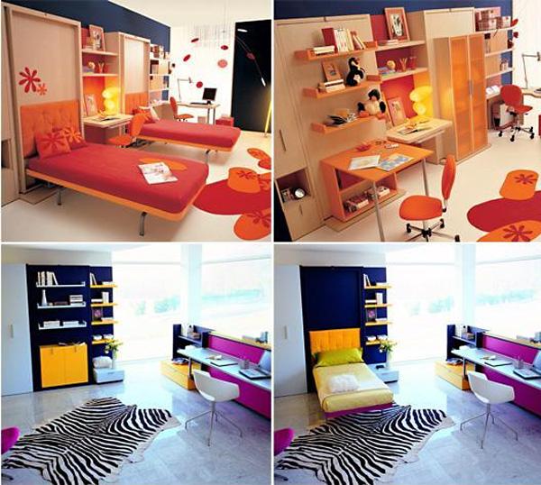 Стильная мебель-трансформер от Resource Furniture