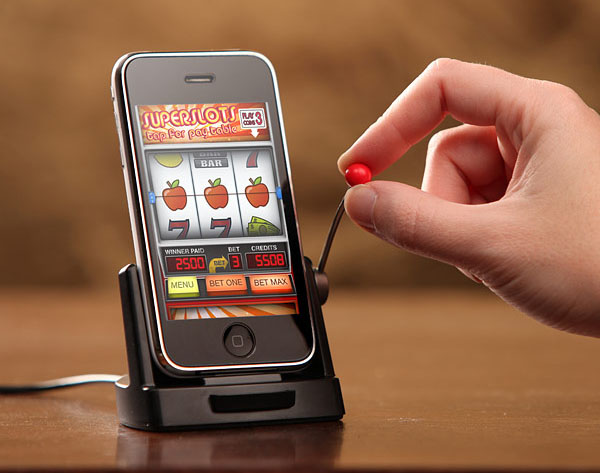 Подставка под iPhone и iPod для игровых автоматов