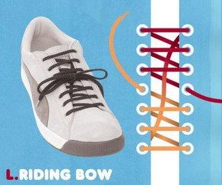 15 модных вариантов шнуровки обуви