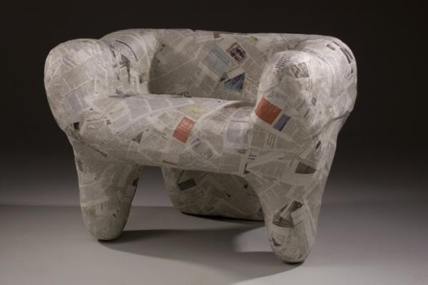 Оригами мебель из бумаги