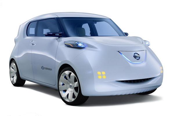 Электромобиль Nissan Townpod