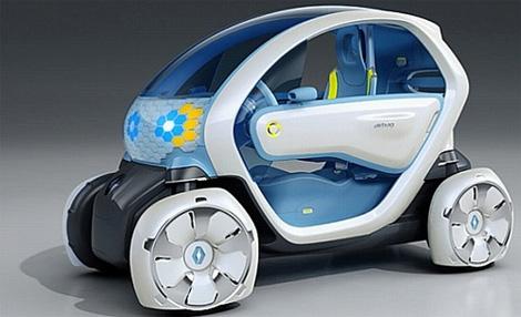 Линейка электромобилей от Renault