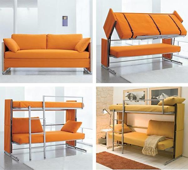 Стильная софа-трансформер от Resource Furniture