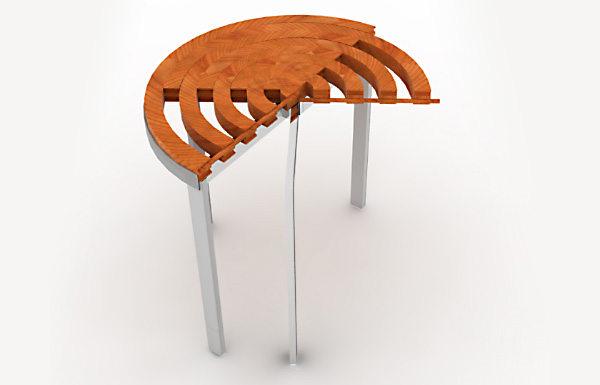 Раздвижной стол RoTension