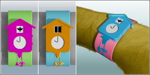 Часы с кукушкой от Ханса Гребина.