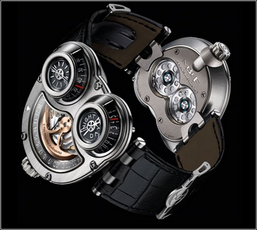 Часы Horological Machine 3 - модель Sidewinder.