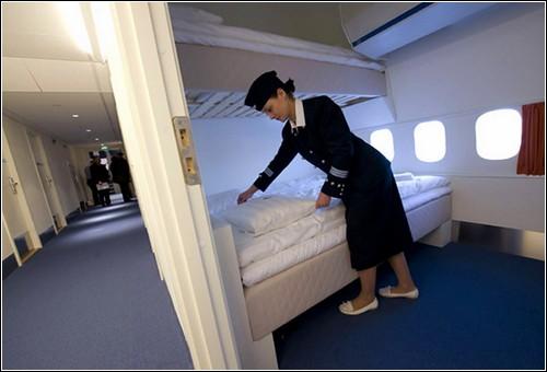 Гостиница в реактивном самолете.