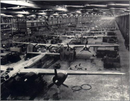 Завод Douglas в городе Талса, штат Оклахома.