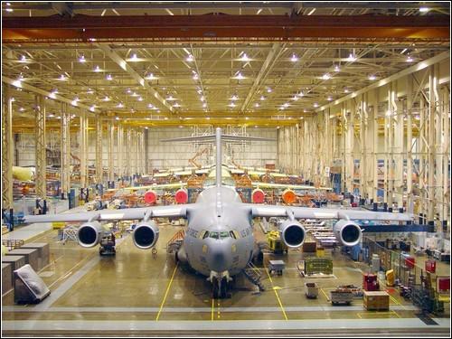 Калифорнийский завод Boeing.