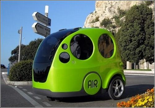 Пневмоавтомобиль AIRpod от MDI.