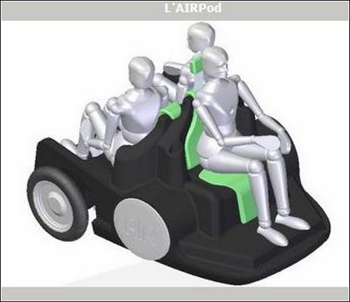 Компоновка пассажирских сидений.
