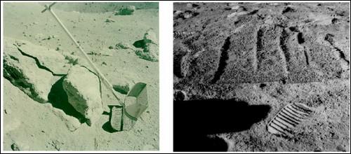 Просеивать грунт вручную пробовали еще астронавты миссии Аполлон.