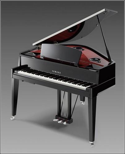 Технологичное фортепиано Yamaha Avant Grand.