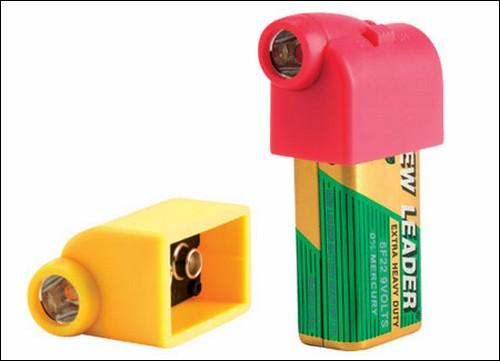 Батарейка-фонарик Battery Snaps.