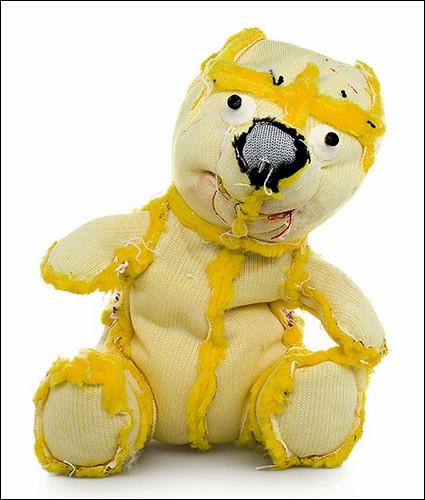 Желтый медведь наизнанку.