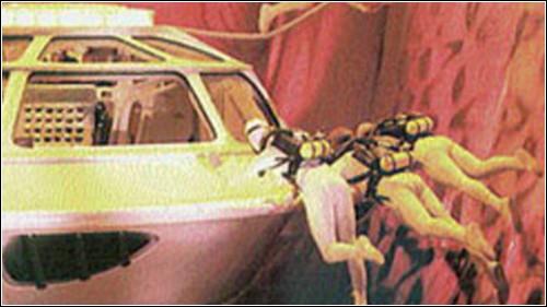 В фильме Протей с командой погружались в кровеносные сосуды пациента.