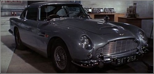Aston Martin – классическая машина Джеймса Бонда.