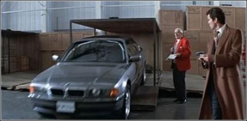 Роскошный BMW Джаеймса Бонда.