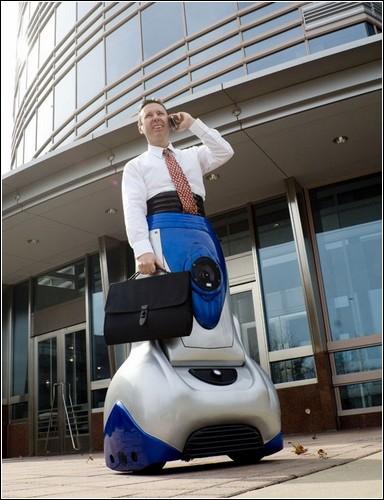 Персональная колесница Chariot от компании Exmovere.