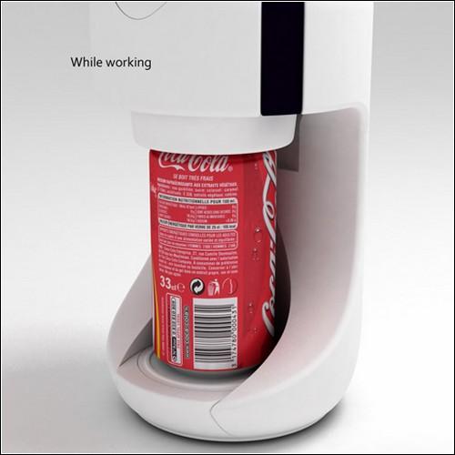 Дизайнер придумал обеззараживатель для алюминиевых банок // Giftin - сувенирная продукция, полиграфия, наружная и интерьерная ре