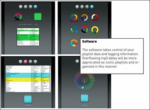 Colorsonic – плейер с цветовым индикатором.