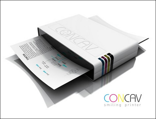 Concave - улыбащийся принтер без лотков.