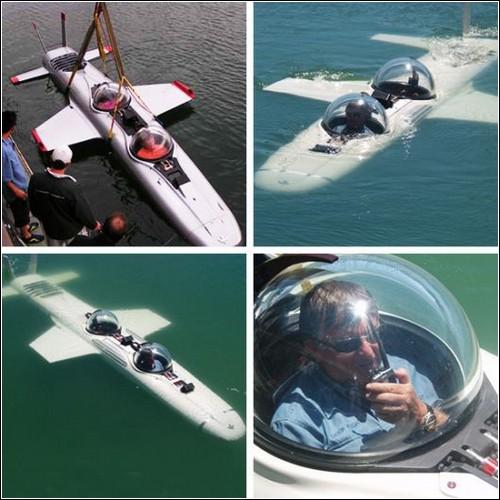 Крылатая подводная лодка Deep Flight.
