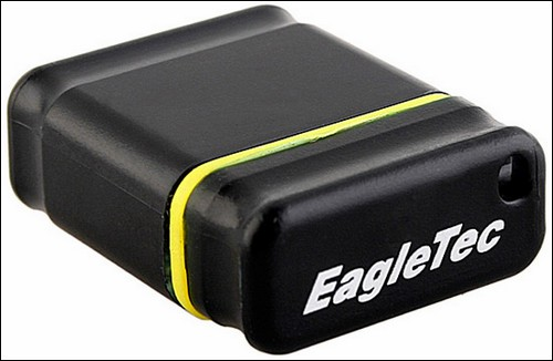 Нано-флэшка EagleTec USB Nano Flash Drive.