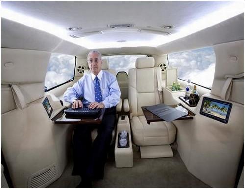Роскошный офис на колесах от Limousine World.