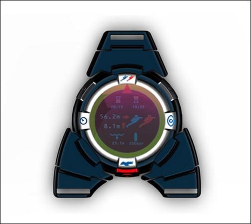 Индикатор достаточно удобен для работы под водой и оснащен интерактивной кромкой переключения режимов.