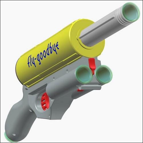 Пушка для борьбы с насекомыми Fly-Goodbye.