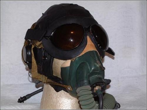 Советский летный шлем ШЛ-50.