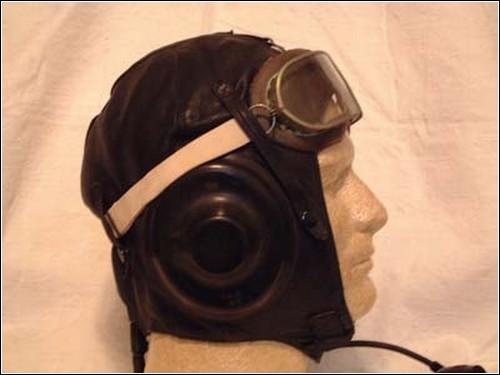 Есть предложение обыграть тему летных шлемов начала 20-го века.