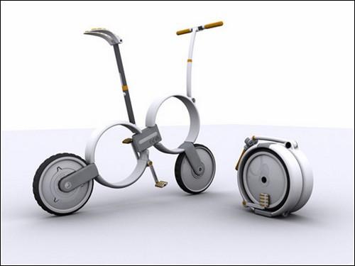 Складной велосипед от Томаса Оуэна.
