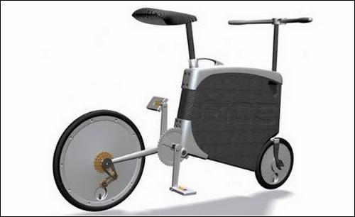 Израильский вариант складного велосипеда.