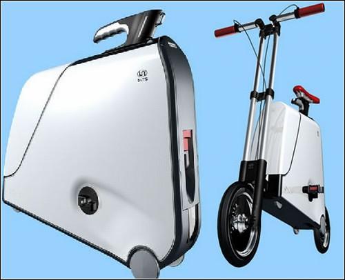Китайский велосипед в чемоданчике.