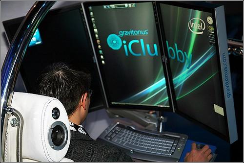Gravitonus iClubby - рабочее место нового типа.