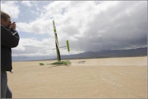 Grеenbird – ветровая машина-рекордсмен.