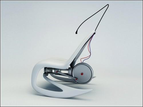 Кресло-качалка от Петра Новака.