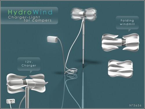 Гидро-ветровой электрогенератор HydroWind.