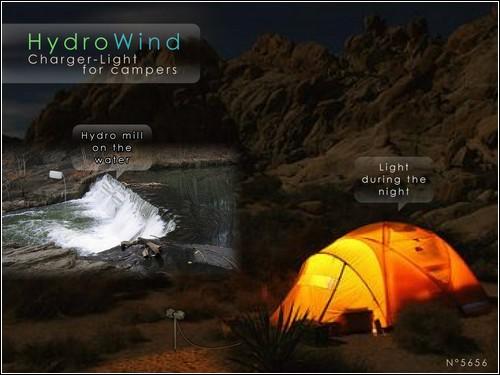 HydroWind принесет свет в самый глухой уголок.