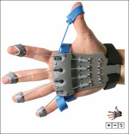 Тренажер для ладони и пальцев.