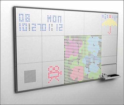Интерактивная доска I-Quad во всей красе.