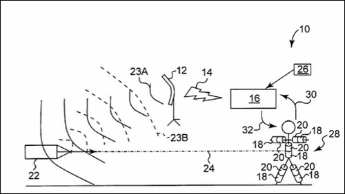 Рисунок из патентной заявки IBM.