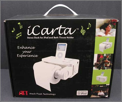 iCarta+ Toilet Roll Holder – отличный подарок!